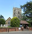St Mary the Virgin's Church, Church Hill, Horsell (June 2015) (2).JPG