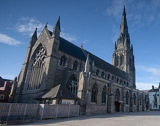 St Marys Church, Lichfield Church in Staffordshire, England