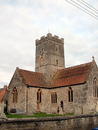 Sedgemoor - Image: St Michael and All Angels Church, Bawdrip geograph.org.uk 85565
