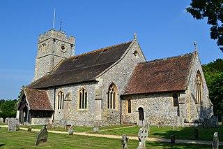 Longparish village in United Kingdom