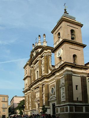 Frascati Cathedral - Frascati Cathedral: west front