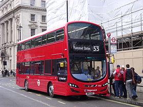 Stagecoach 13016 sur la route 53, Whitehall.jpg
