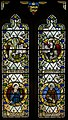 Stained glass window, All Saints' church, Laughton, Lincs (18162442476).jpg