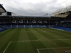 Stamford Bridge Stadium Football Pitch, 2.22.2013.jpg