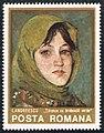 Stamp 1975 - Ion Andreescu - Taranca cu broboada verde.jpg