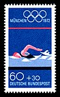 Stamps of Germany (BRD), Olympiade 1972, Ausgabe 1972, 60 Pf.jpg