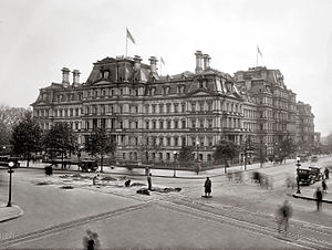 United States Department of War - State, War, and Navy Building in 1917
