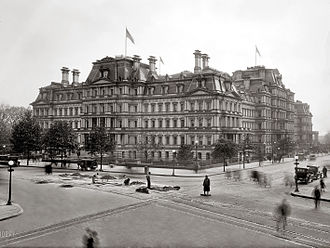 Eisenhower Executive Office Building - State, War, and Navy Building in 1917