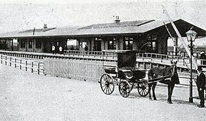 Hillegom railway station - Hillegom railway station in 1900