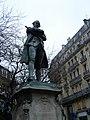 Statue de Beaumarchais Boulevard Beaumarchais.jpg