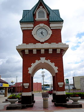 Steinbach Millenium Clock Tower