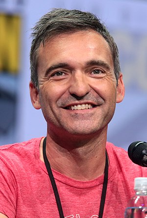 Steve Holland (writer) - Holland at the 2017 San Diego Comic-Con
