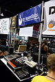 Stg-soundlabs 5U analog modular synthesizer modules, step sequencer - (left is Hervestman booth) - 2015 NAMM Show.jpg