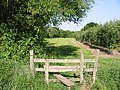 Stile on the Stour Valley Walk, looking E - geograph.org.uk - 468012.jpg
