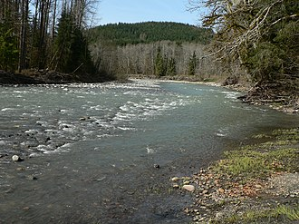 Stillaguamish River - The South Fork of the Stillaguamish River near Verlot