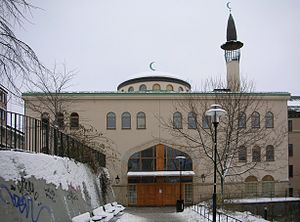 Stockholm Mosque - The Stockholm Mosque in January 2006.