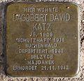 Stolperstein Arnstadt Karl-Marien-Straße 11-Dagobert David Katz.JPG
