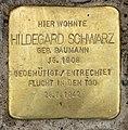 Stolperstein Eschenallee 34 (Westend) Hildegard Schwarz.jpg