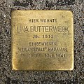 Stolperstein Eschersheimer Landstraße 107 Lina Butterweck.jpg