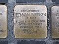 Stolperstein Hermann Wronker, 1, Zeil 85 - 93, Innenstadt, Frankfurt am Main.jpg