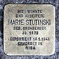 Stolperstein Kurstr 22 (Spand) Marie Stutinski.jpg