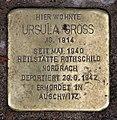 Stolperstein Martin-Luther-Str 65 (Schön) Ursula Gross.jpg
