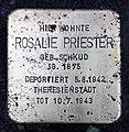 Stolperstein Wielandstr 22 (Schön) Rosalie Priester.jpg