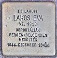 Stolperstein für Eva Lakos (Budapest).jpg