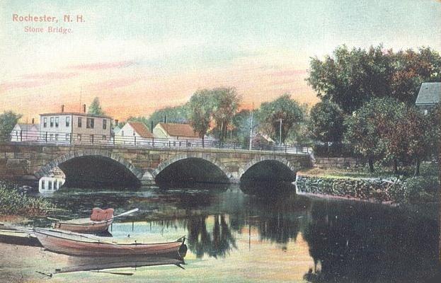 Stone Bridge in Rochester, NH
