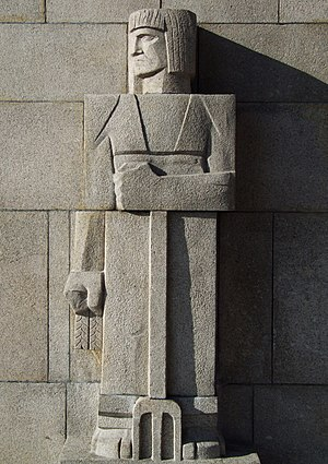 Sculpture in Góra Świętej Anny