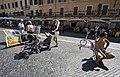 Street art market in Piazza Navona, Rome - 1913.jpg