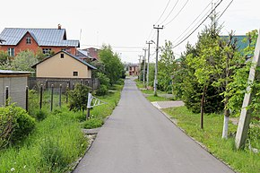 Street in Vnukovo village 01.jpg