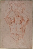 Study for a Triton (recto); Anatomical Studies ? (verso) MET 1973.265 RECTO.jpg