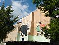 Stups und Steppke von Hergé, Brüsseler Wandgemälde.jpg
