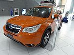 Subaru FORESTER X-BREAK (DBA-SJ5) front.JPG