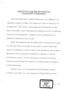 Substitution for the Testimony of Khalid Sheikh Mohammed.pdf