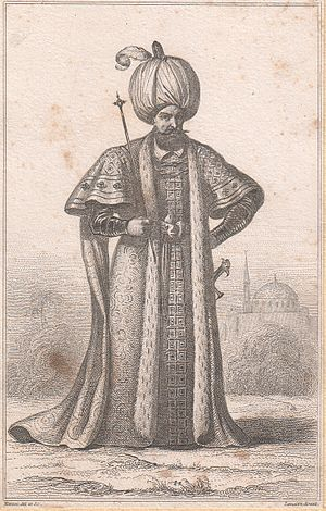 "Raziye Sultan - The father of ""Raziye Sultan"", Ottoman Sultan Suleiman the Magnificent."