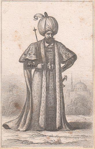 """Raziye Sultan - The father of """"Raziye Sultan"""", Ottoman Sultan Suleiman the Magnificent."""