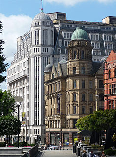 Sunlight House grade II listed architectural structure in Manchester, United kingdom