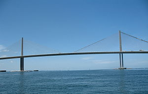 Oba Chandler - Sunshine Skyway over Tampa Bay where the first body was found on June 4, 1989