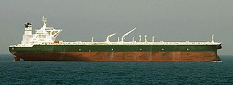 Oil tanker - The commercial oil tanker AbQaiq