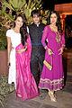 Surbhi Jyoti, Karanvir Bohra and Teejay Siddhu at Sachin Joshi's Diwali Bash.jpg