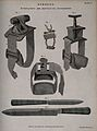 Surgical instruments; tourniquets and amputating instruments Wellcome V0016354.jpg