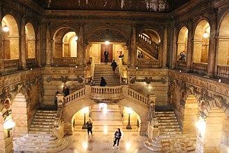 Surrogate's Courthouse - Interior atrium