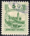 Switzerland Aarau 1906 revenue 5C - 1.jpg