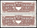 Switzerland Fribourg 1908 poster revenue 3 5Fr - L 5 pair.jpg