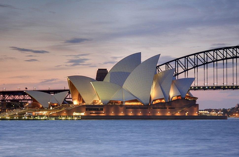 Sydney Opera House, botanic gardens 1