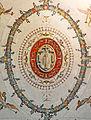 Symbol of Colonna Family in Rocca Abbaziale (Subiaco).jpg