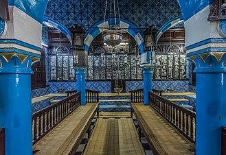 El Ghriba synagogue - Inside the synagogue