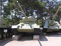T-34-85 at the Museum on Sapun Mountain Sevastopol 2.jpg